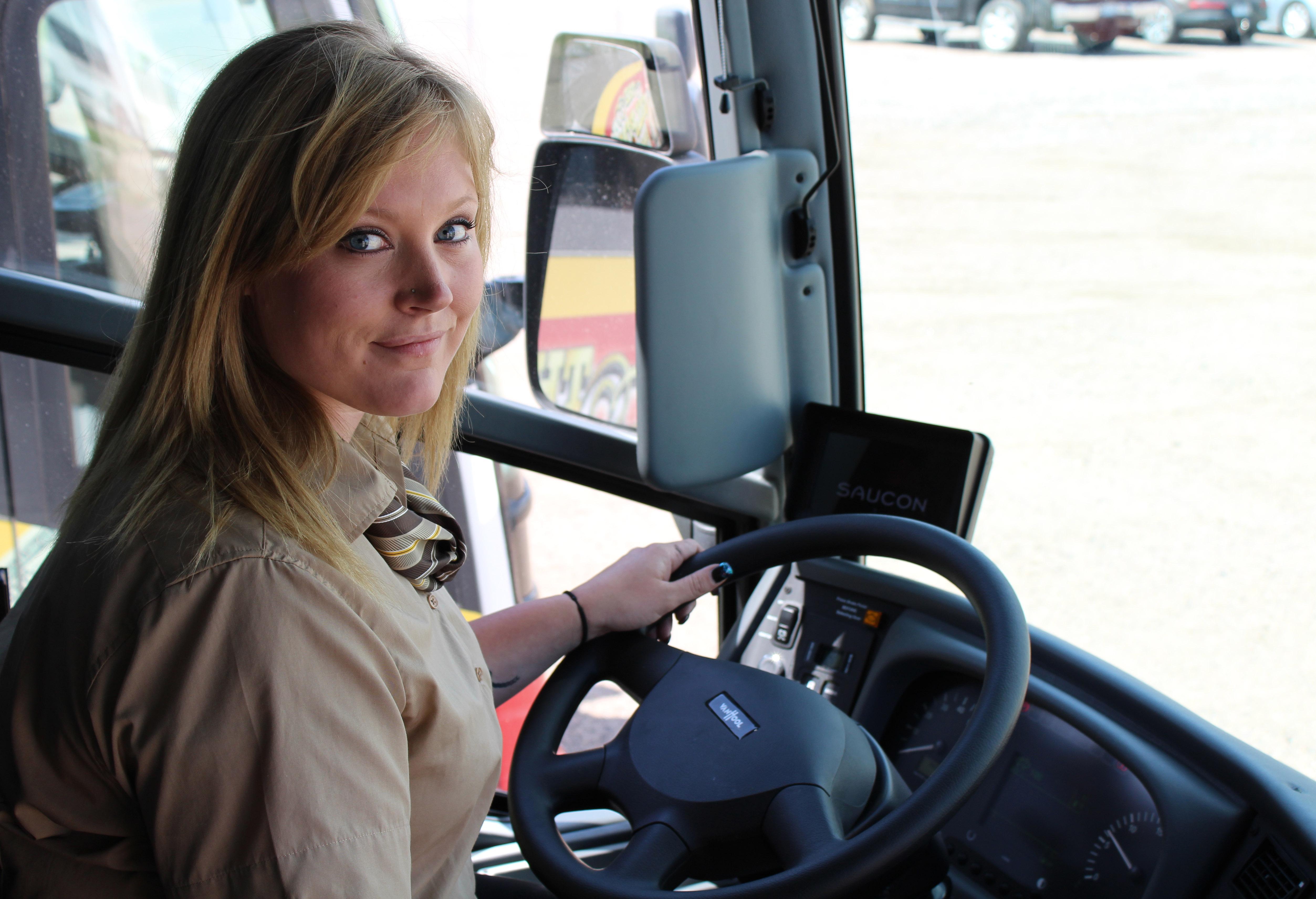 Ramblin Express Bus Company Driver